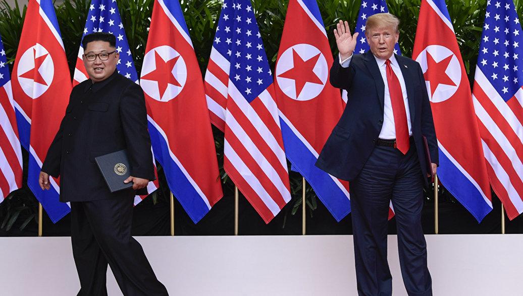 Ядерной угрозы со стороны Северной Кореи больше нет, заявил Трамп
