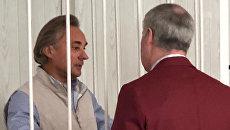 Депутат Заксобрания Омской области Сергей Калинин в суде. 15 июня 2018