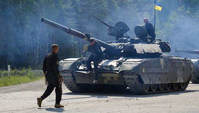 """На Украине выясняют причины провала танков """"Оплот"""" на биатлоне в Германии"""