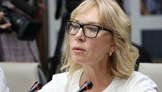 Уполномоченный по правам человека Верховной рады Украины Людмила Денисова. Архивное фото