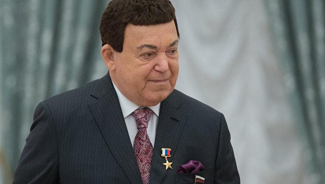 Певец, депутат Государственной Думы РФ Иосиф Кобзон. Архивное фото