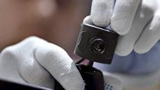 Установка видеокамеры