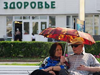 Жара в Москве. Архивное фото