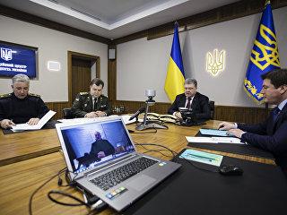 Президент Украины Петр Порошенко и экс-председатель Донецкой областной государственной администрации Павел Жебривский. Архивное фото
