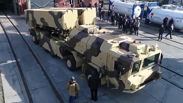 Украинский ракетный комплекс Гром-2