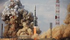 Старт ракеты с Байконура. Архивное фото