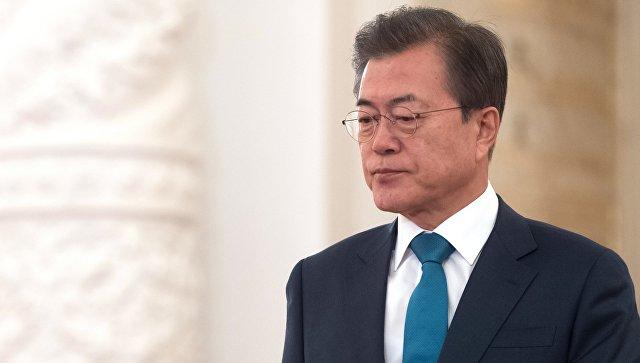 Президент Республики Корея Мун Чжэ Ин. Архивное фото