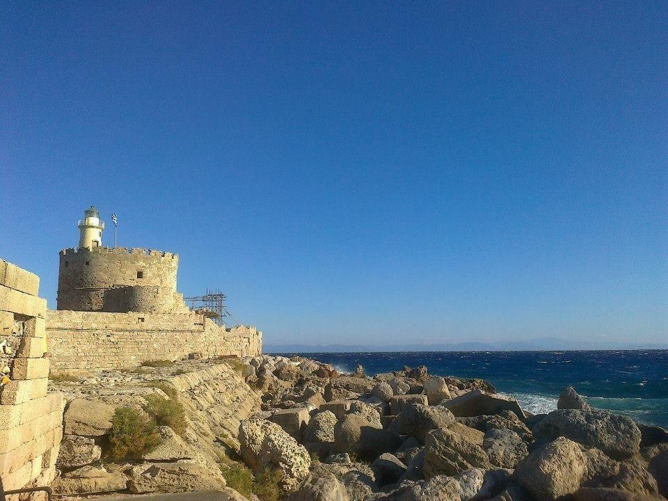 Родос, старый маяк.
