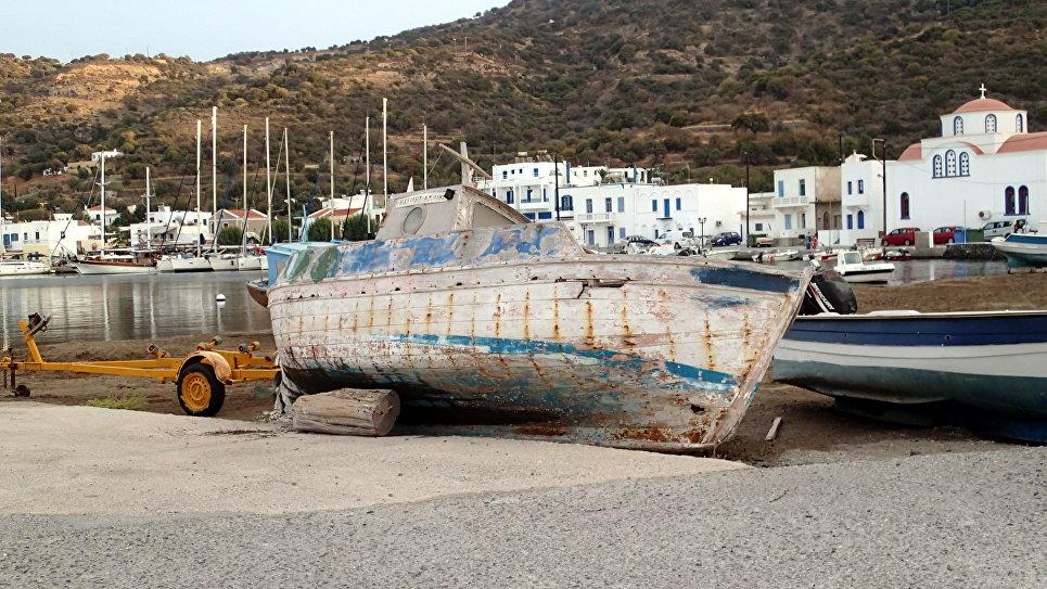 Деревня Пали, остров Нисирос.