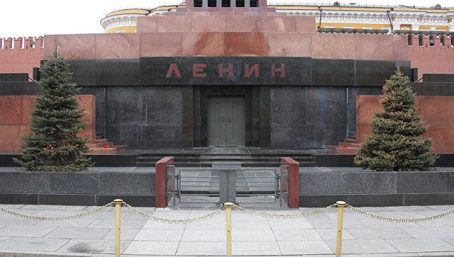 Мавзолей В.И. Ленина на Красной площади после ремонта. Архивное фото