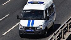 Автомобиль полиции в Москве. Архивное фото