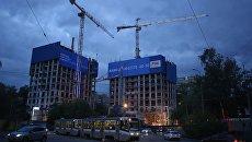 Строительство ЖК компании Баркли