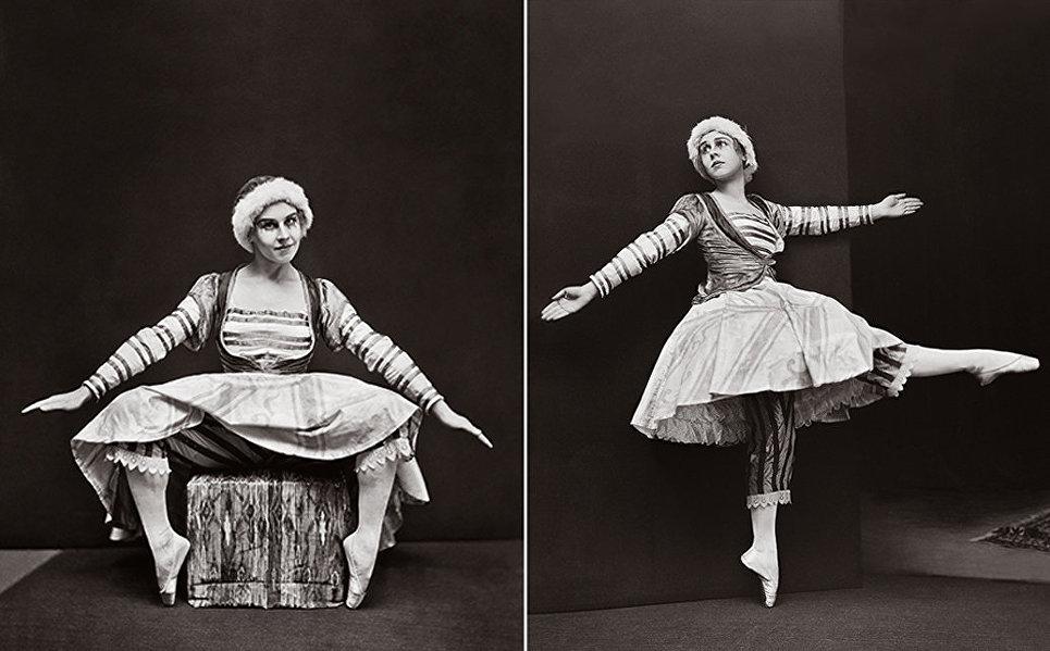Лидия Лопухова в роли Куклы-балерины.