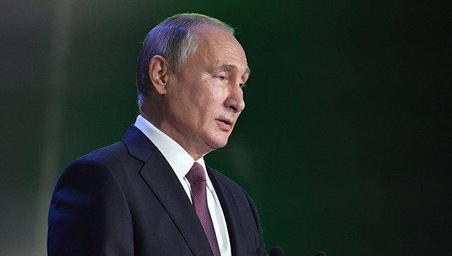 Путин заявил о важности окончания многолетних работ по статусу Каспийского моря