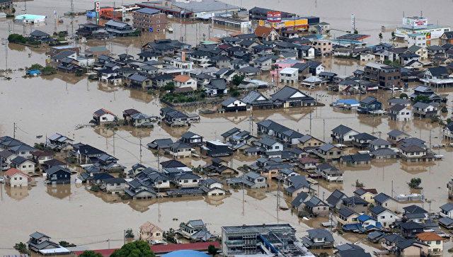 Последствия ливневых дождей в Японии. Архивное фото