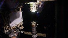 Грузовой корабль Прогресс МС-09 успешно пристыковался к Международной космической станции. Архивное фото