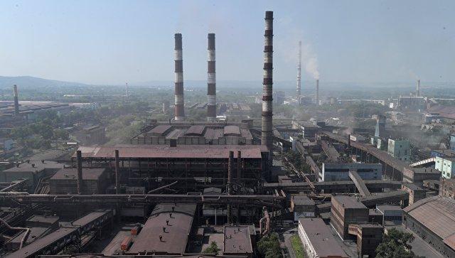 Металлургический комбинат в Новокузнецке. Архивное фото