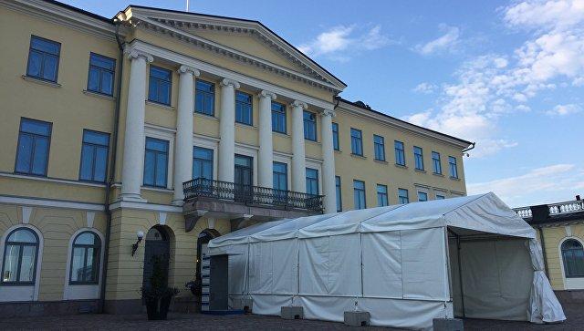 Президентский дворец в Хельсинки. Архивное фото