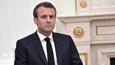 Президент Франции Эммануэль Макрон, архивное фото