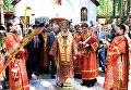 Патриарх Московский и Всея Руси Кирилл совершает заупокойную литию у Алапаевской шахты