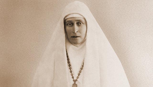 Настоятельница Марфо-Мариинской обители великая княгиня Елизавета Федоровна