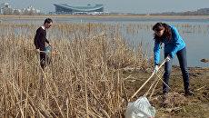 В ходе акции Вода России собрано уже более 17 тысяч мешков мусора
