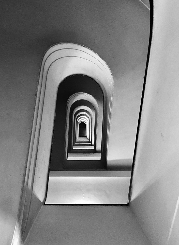 Работа фотографа Massimo Graziani из Италии Rampage, занявшая первое место в категории Архитектура в фотоконкурсе 2018 iPhone Photography Awards