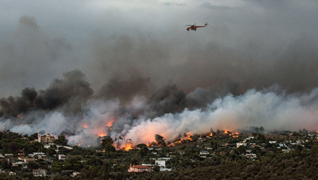 Число погибших во время пожаров в Греции возросло до 79