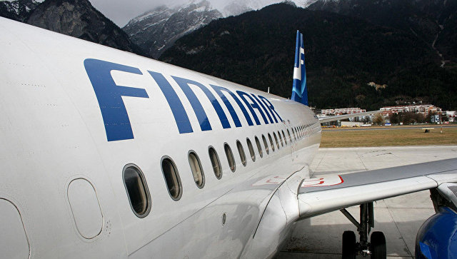 Самолет авиакомпании Finnair. Архивное фото