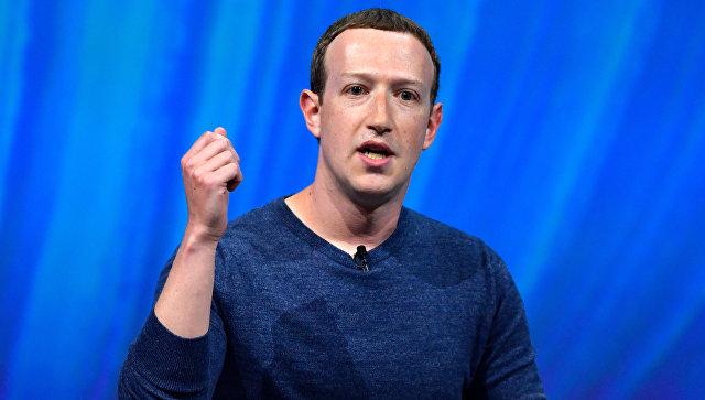 Цукерберг в 2018 году опустился на шестую строчку индекса Bloomberg