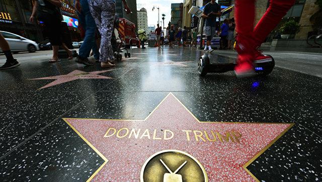 В Западном Голливуде требуют убрать звезду Трампа с «Аллеи славы»