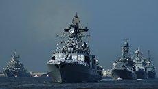 Российские боевые корабли. Архивное фото