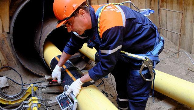 Работы по замене газопровода в Москве