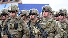 Военнослужащие подразделения сухопутных войск США. Архивное фото