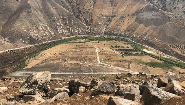 Сирийско-иорданская граница. Архивное фото