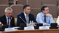 Губернатор Тверской области Игорь Руденя на Совещании Совета безопасности РФ в Орле