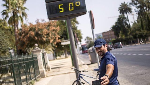 В Испании пять человек погибли из-за жары