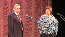 Евгений Петросян и Елена Степаненко. Архивное фото
