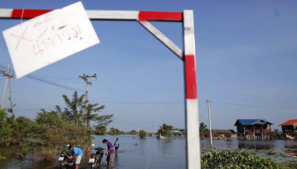 Более 70 тысяч человек пострадали от наводнений в Таиланде