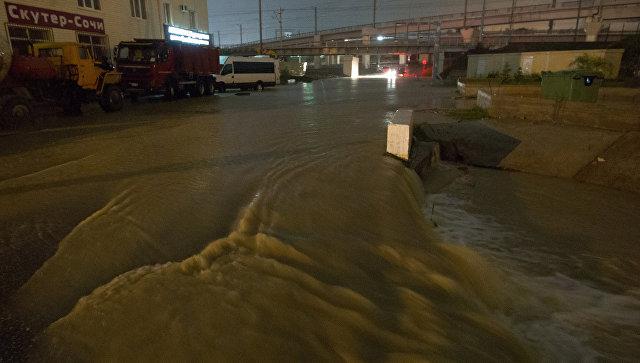 Более тысячи жителей Сочи признали пострадавшими от наводнения на Кубани
