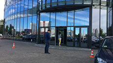Бизнес-центр Omega Tower на проспекте Дзержинского в Минске, где расположен офис TUT.BY
