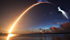 Запуск ракеты Atlas V со спутником вооруженных сил США с мыса Канаверал. Архивное фото