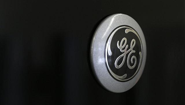 Логотип General Electric. Архивное фото