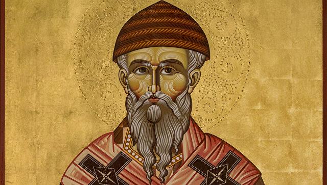 Икона святителя Спиридона Тримифунтского. Архивное фото