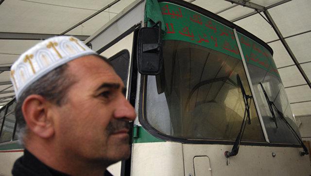 Мусульмане-паломники в Сочи
