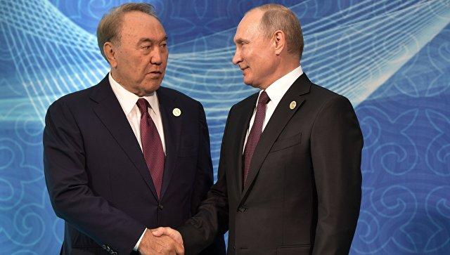 Назарбаев и Путин обсудили вопрос с генсеком ОДКБ, назвав ситуацию проблемной