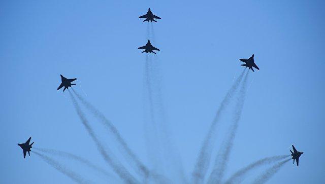 Истребители МиГ-29. Архивное фото
