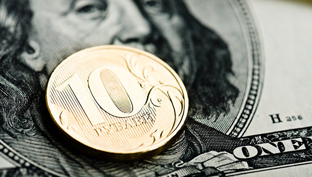 Российские рубли и доллары США