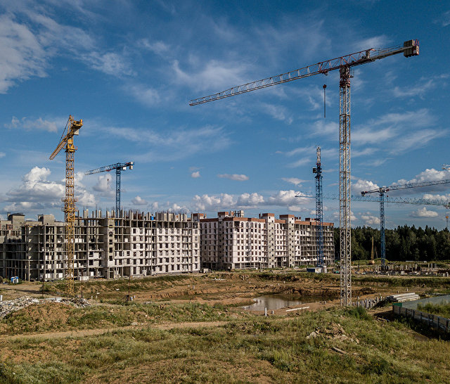 Строительство жилого комплекса Митино О2 в Красногорском районе Московской области