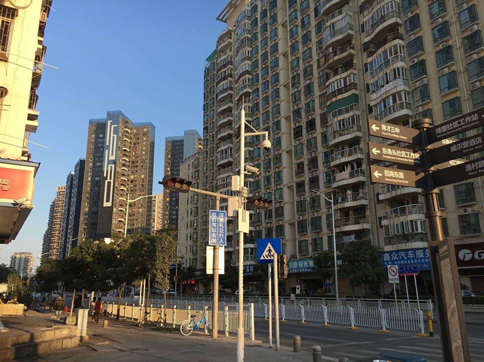 Жилой район Шэньчжэня, Китай
